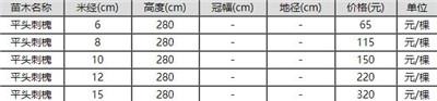 刺槐价格多少钱一棵?刺槐的栽培价值有哪些?